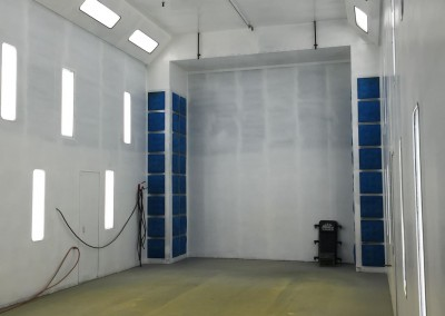 Helicopter Spray Booth System 1
